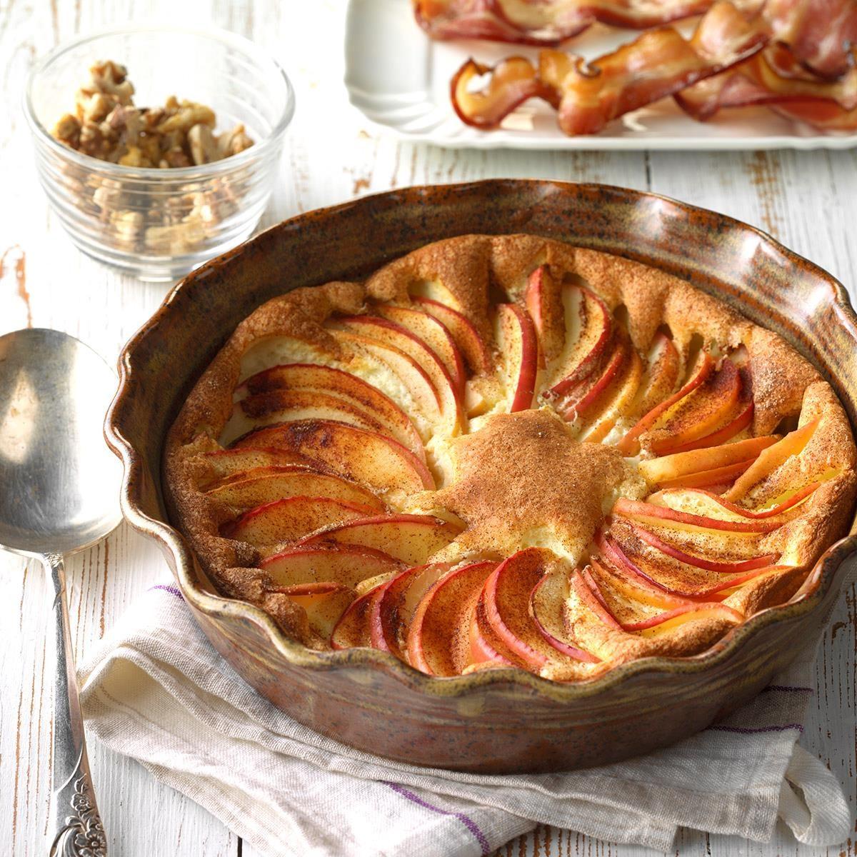 Puffy Apple Omelet
