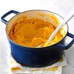 Pumpkin & Cauliflower Garlic Mash