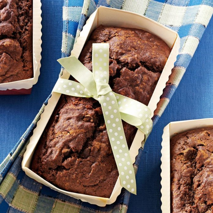 Maryland: Pumpkin Chocolate Loaf