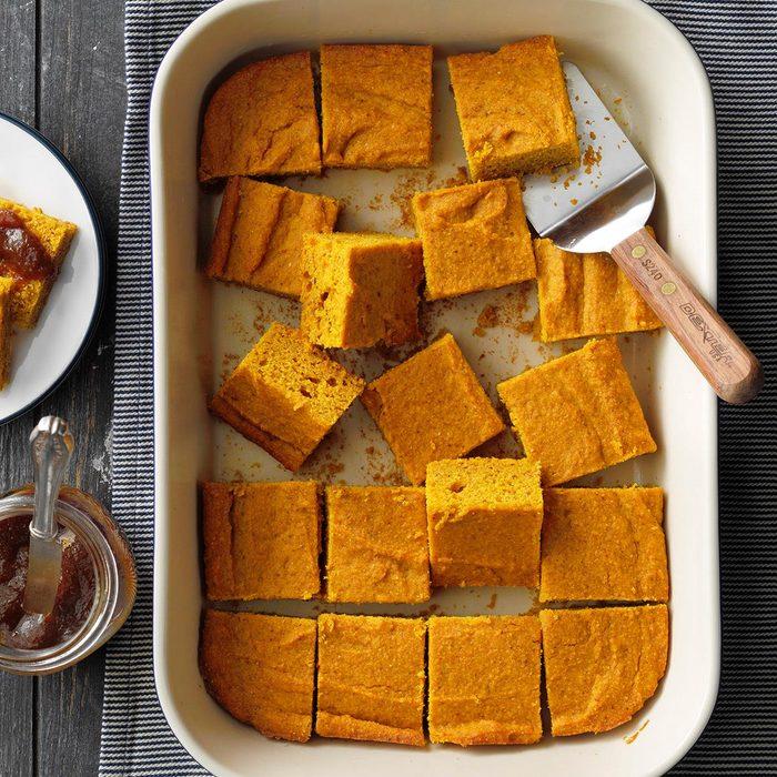 Pumpkin Corn Bread