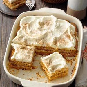 Pumpkin Cream Tiramisu