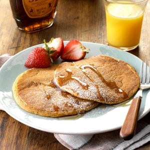 Pumpkin-Flavored Pancakes