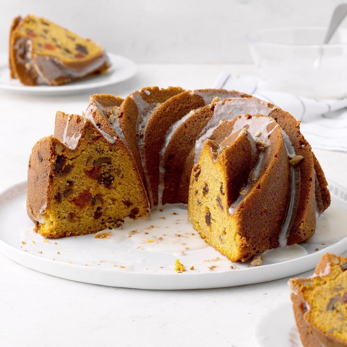 Pumpkin Fruitcake Recipe