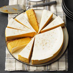 Pumpkin Mousse Cheesecake
