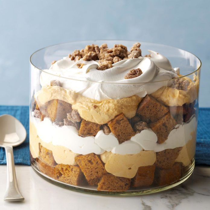 Oklahoma: Pumpkin Mousse Trifle