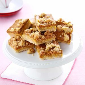 Pumpkin Oatmeal Bars