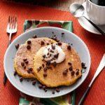 Pumpkin and Oat Pancakes