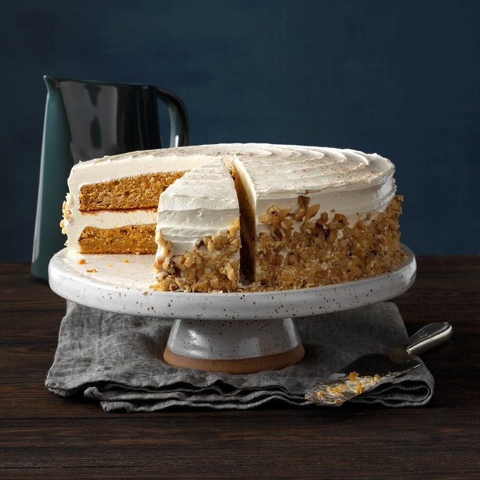 Pumpkin Pie Cake