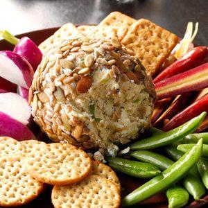 Pumpkin Seed Cheese Ball