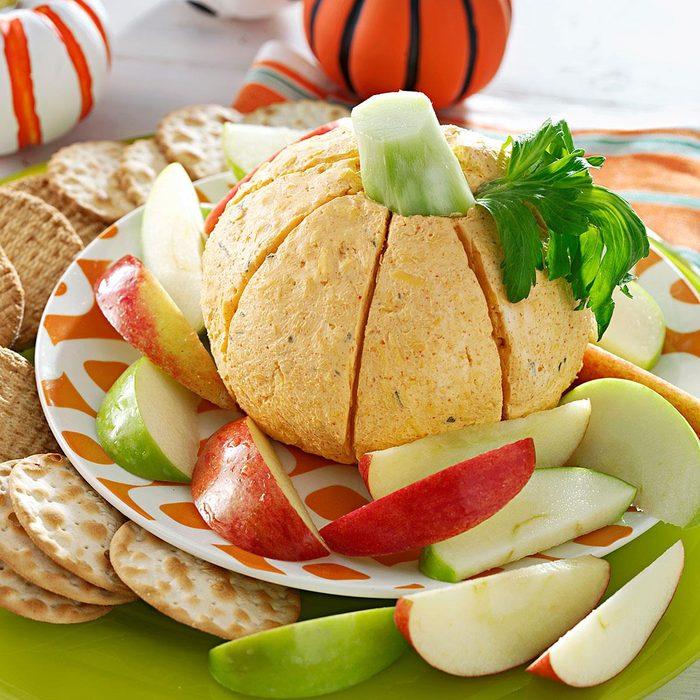 Pumpkin Shaped Cheese Ball Exps38369 Uh2321897c05 12 2bc Rms