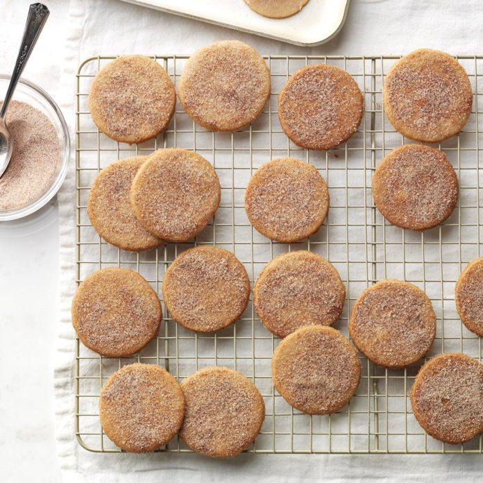Pumpkin-Spice Sugar Cookies