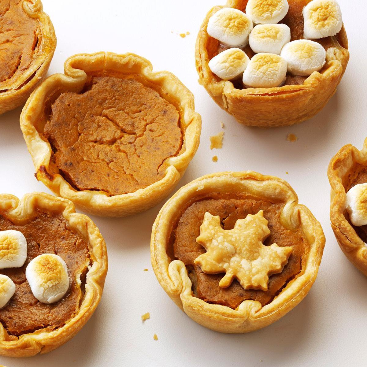 Pumpkin Tartlets Recipe