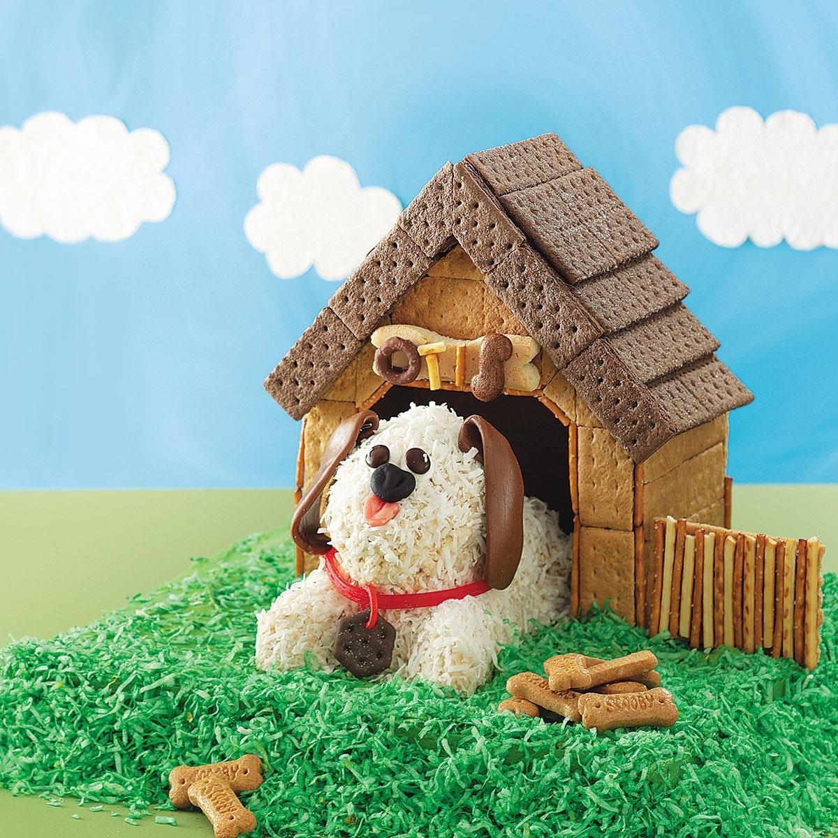 Awesome Puppy Birthday Cake Recipe Taste Of Home Funny Birthday Cards Online Alyptdamsfinfo