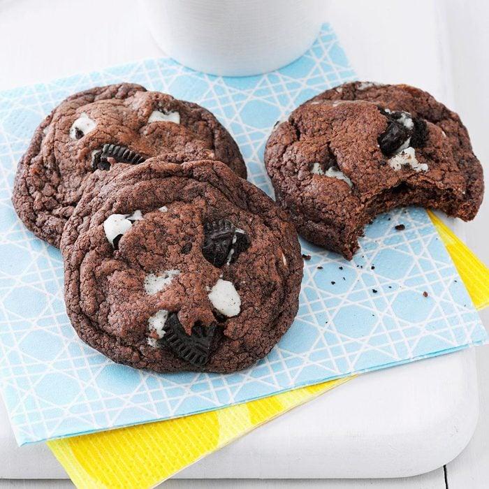 Quadruple Chocolate Chunk Cookies