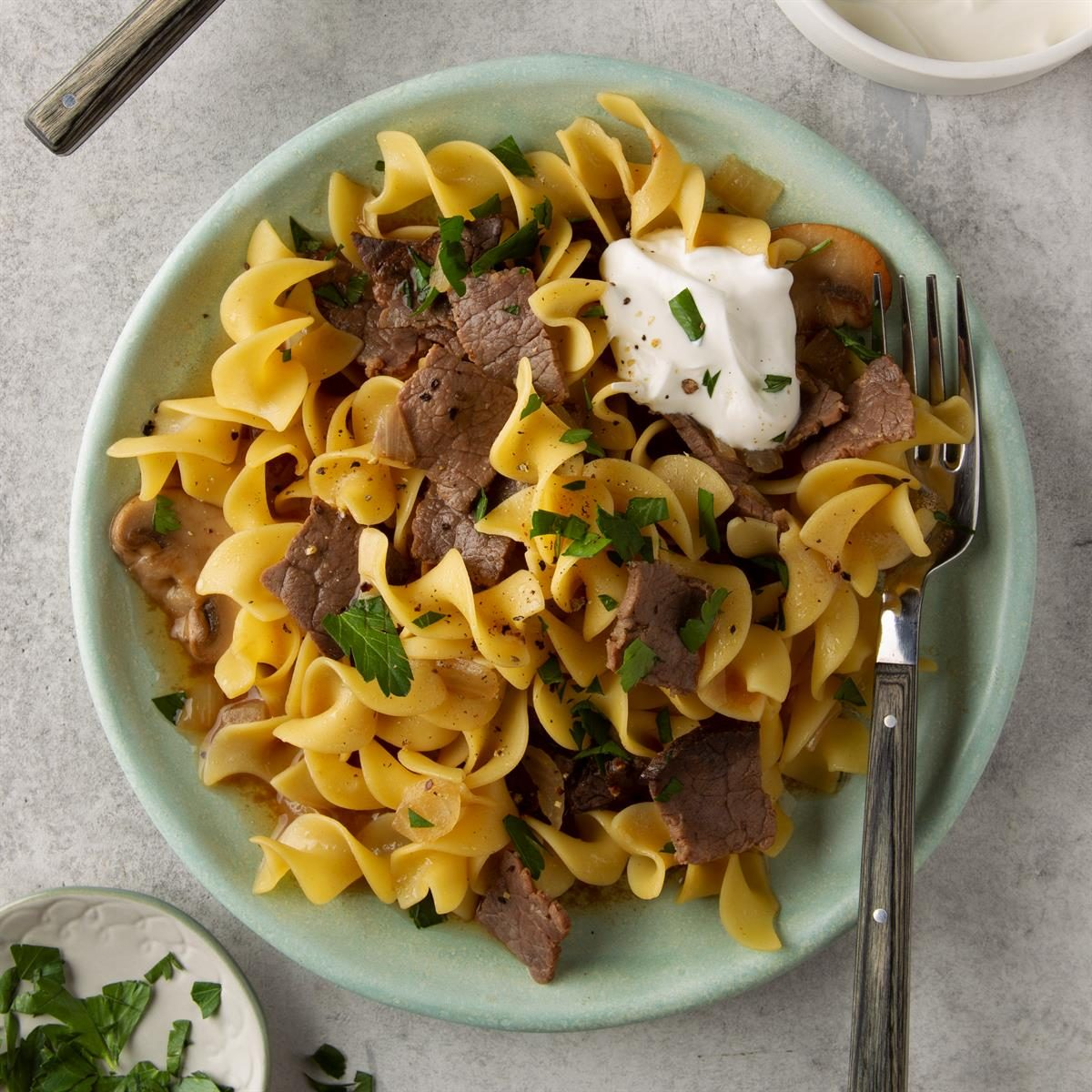 Quick Beef and Noodles