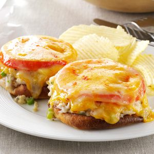 Quick Crab Melts