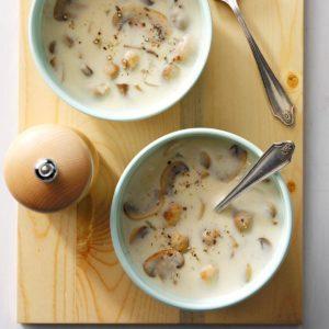 Quick Cream of Mushroom Soup
