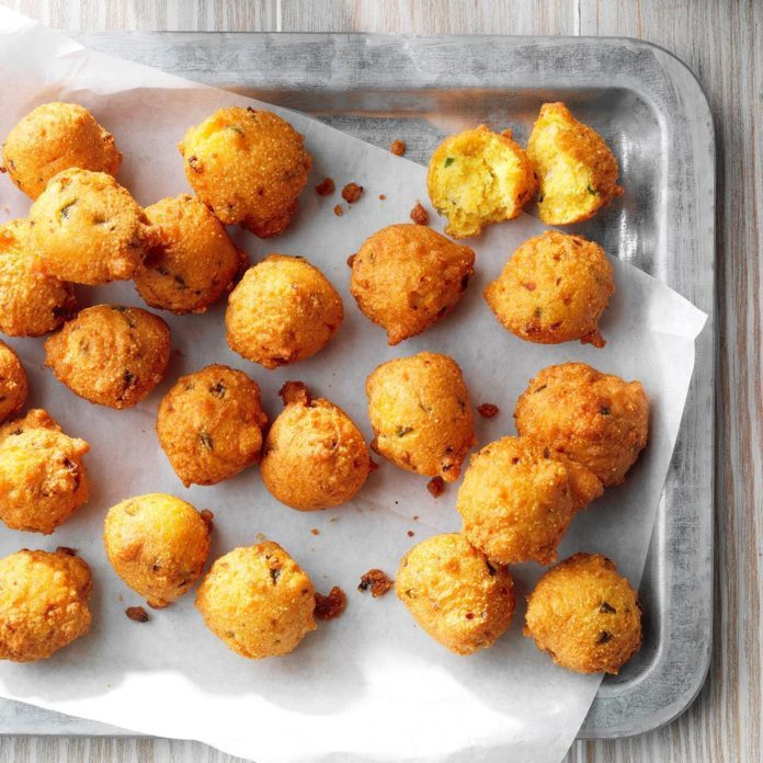Quick Jalapeno Hush Puppies Recipe Taste Of Home