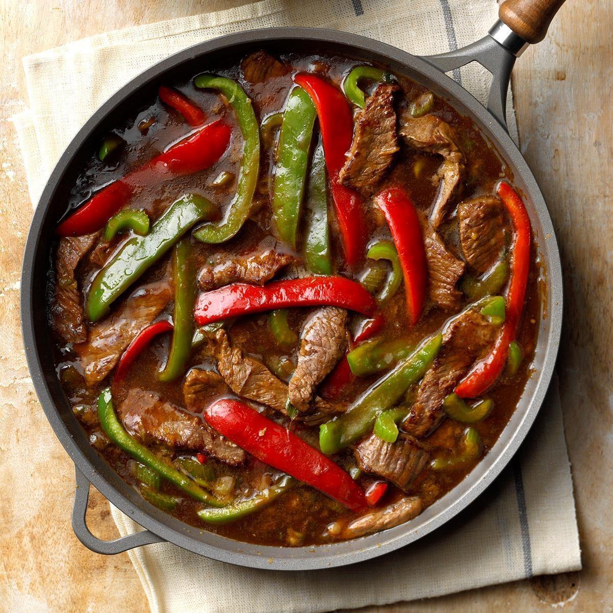 Quick Pepper Steak