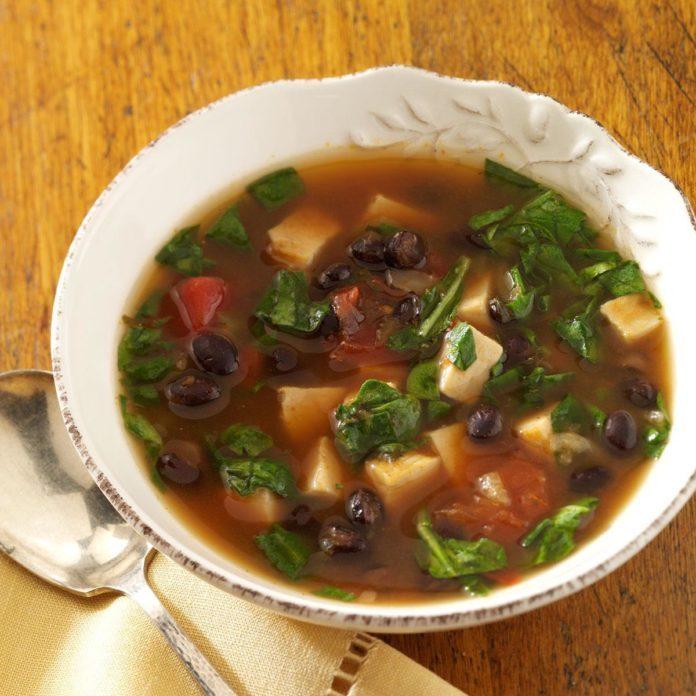 Quick Southwestern Chicken Soup