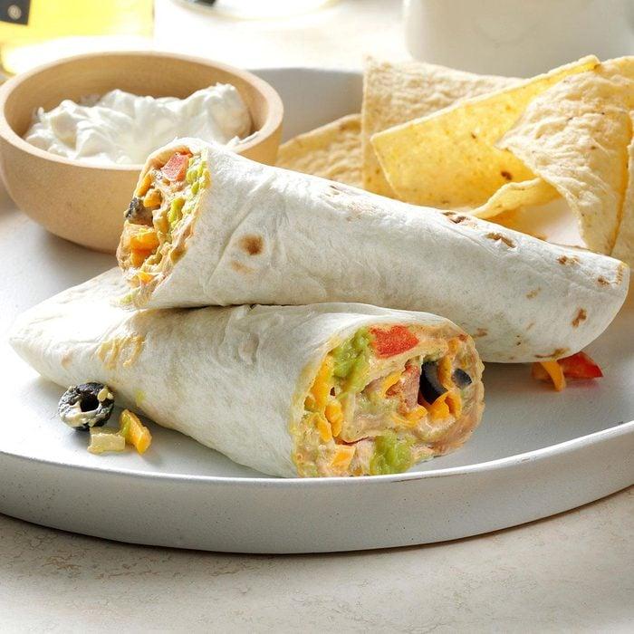 Middle School Age: Quick Taco Wraps