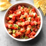 Quick Watermelon Salsa