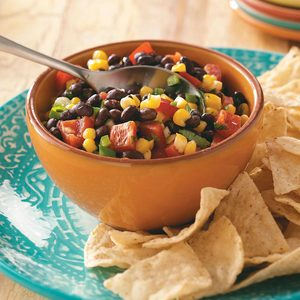 Quick and Easy Corn Salsa