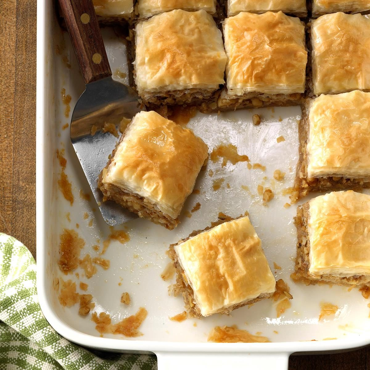Quick And Easy Baklava Squares Recipe Taste Of Home