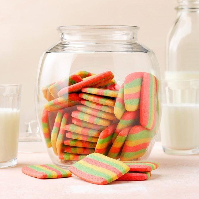 Rainbow Butter Cookies