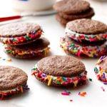 Rainbow S'moreo Cookies