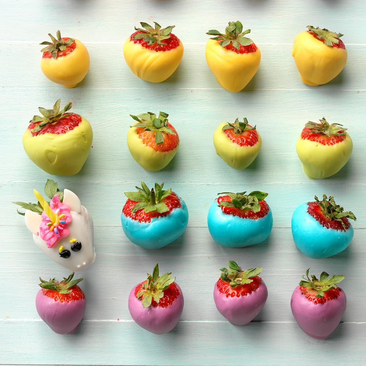 Rainbow Strawberries