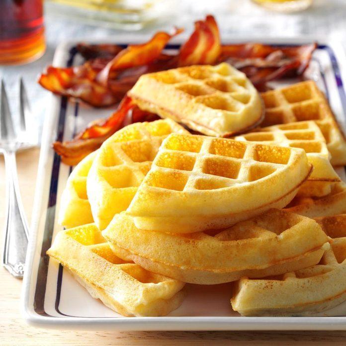 Raised Yeast Waffles
