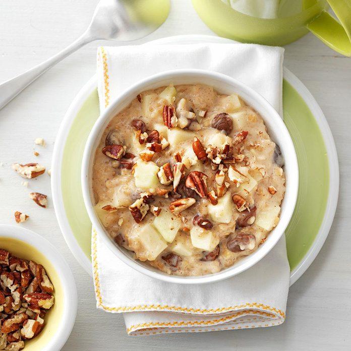 Raisin Nut Oatmeal
