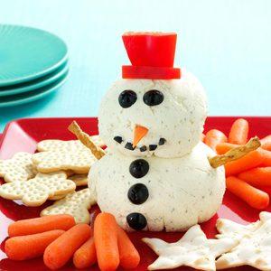 Ranch Spread Snowman