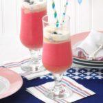 Raspberry Cheesecake Floats