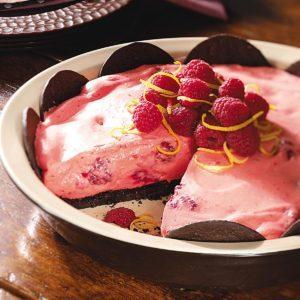 Raspberry-Lemon Pie