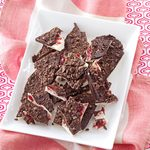 Raspberry-Mocha Chocolate Bark