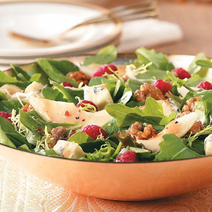 Raspberry Pear Salad With Glazed Walnuts Exps42897 Thca1917912b02 05 5bc Rms 5