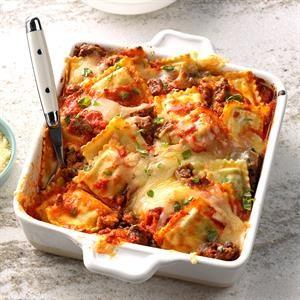 Inspired by: Sorrentina Baked Ravioli Plate