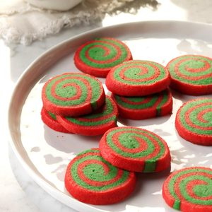 Red & Green Pinwheels