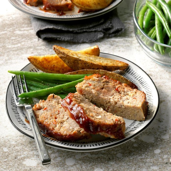 Day 2: Red Pepper Meat Loaf
