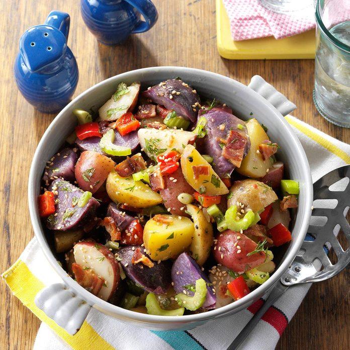 Red, White & Blue Potato Salad