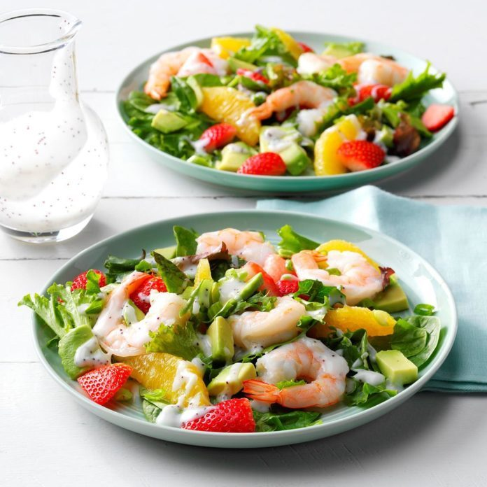 Refreshing Shrimp Salad