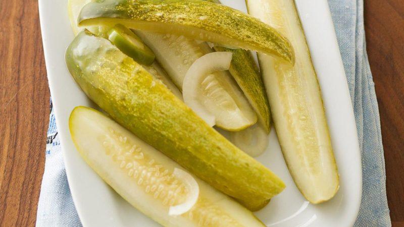 Refrigerator Jalapeno Dill Pickles