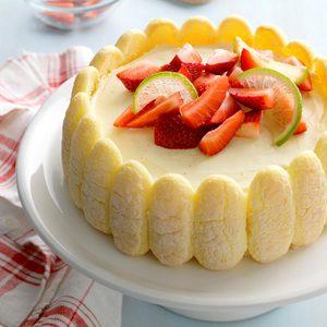 Refrigerator Lime Cheesecake