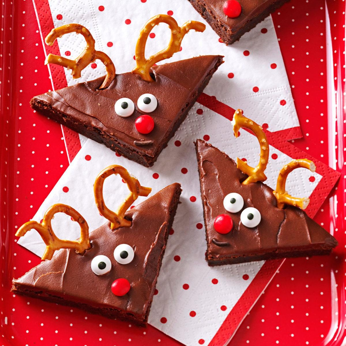 Reindeer Brownies