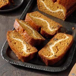 Ribbon Pumpkin Bread