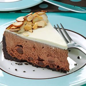 Rich Chocolate Cheesecake