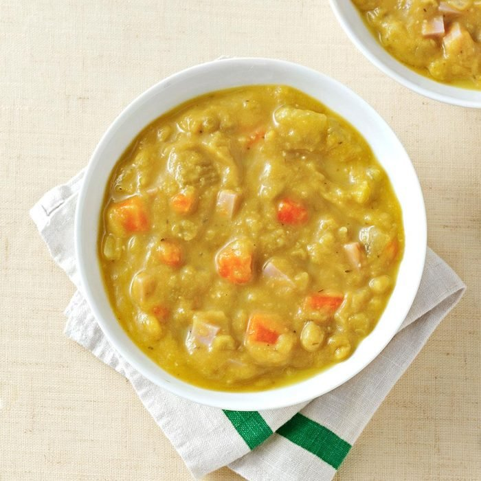 Rich and Thick Split Pea Soup