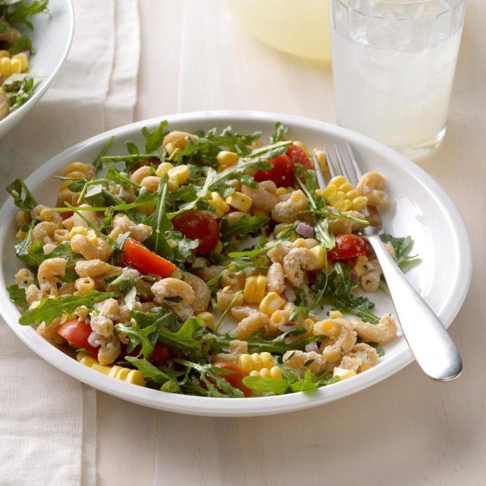 Summer: Ricotta, Tomato & Corn Pasta